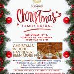 Christmas Family Bazaar in Ubud