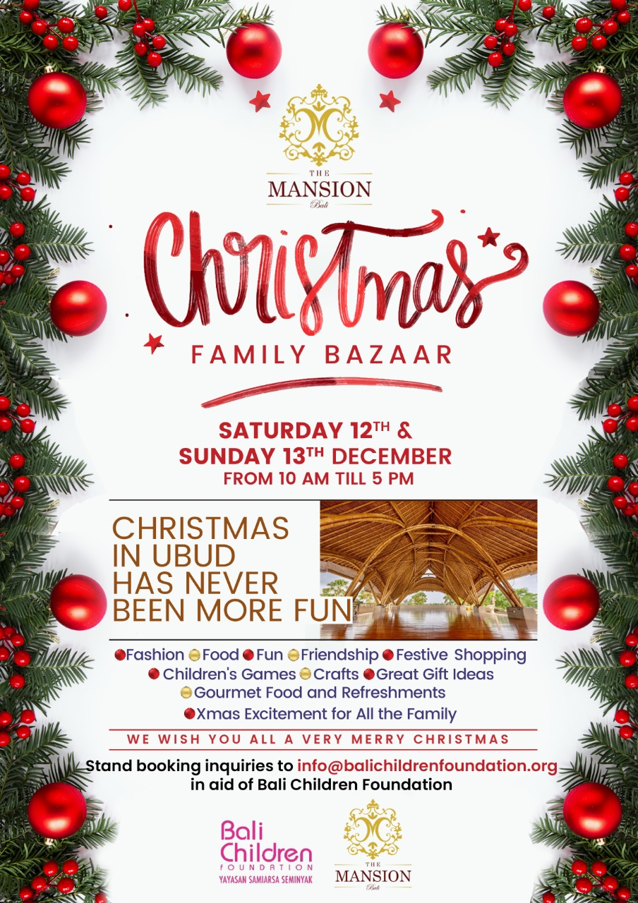 Christmas Family Bazaar in Ubud