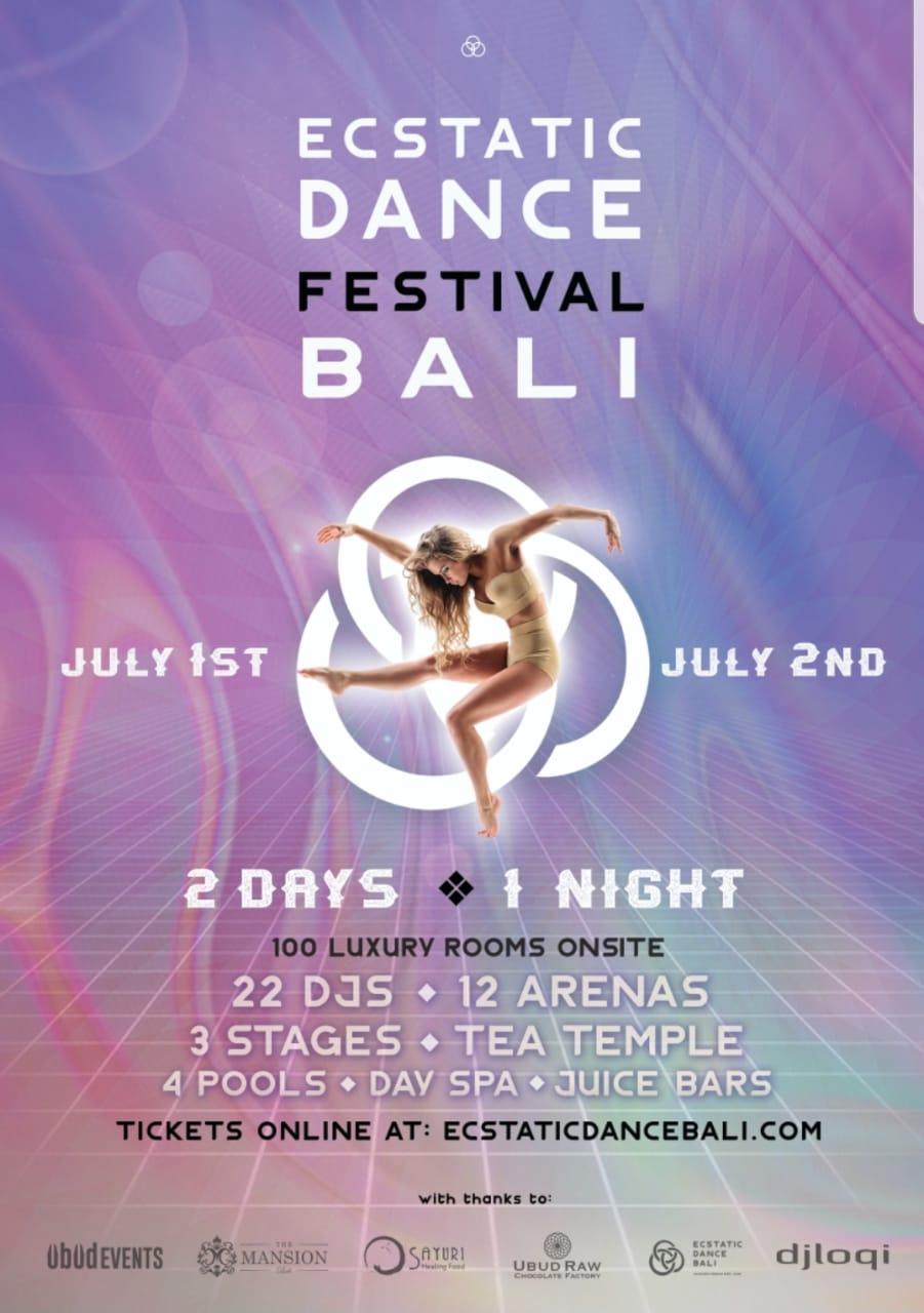 Ecstatic Dance Festival Bali