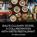 An evening of culinary adventure with two of Bali's top chefs
