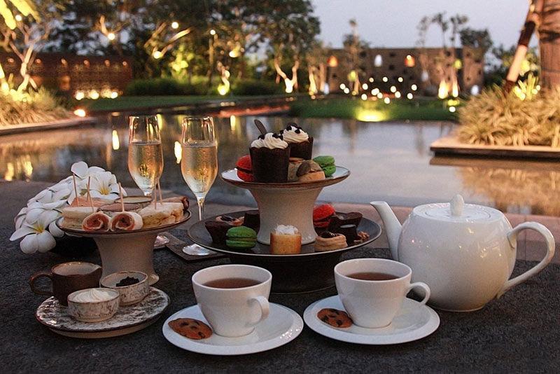 Tea Time in Bali
